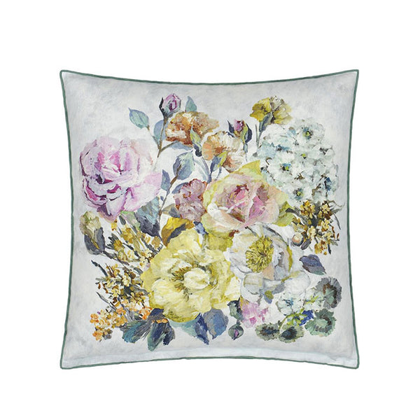 Grandiflora Rose Dusk Cushion