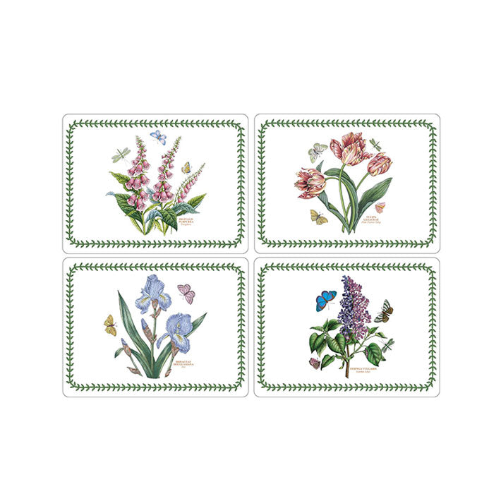 Pimpernel Botanic Garden 4 Motifs Placemats Set of 4