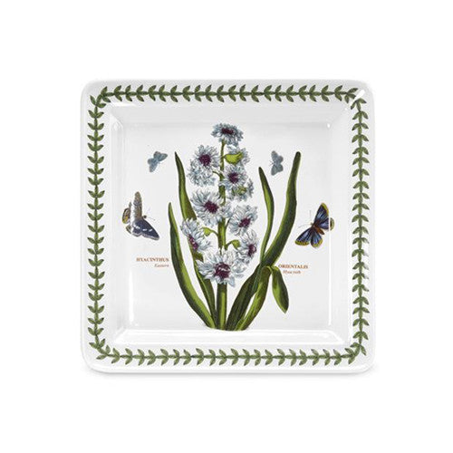 Portmeirion Botanic Garden Square Side Plate Hyacinth