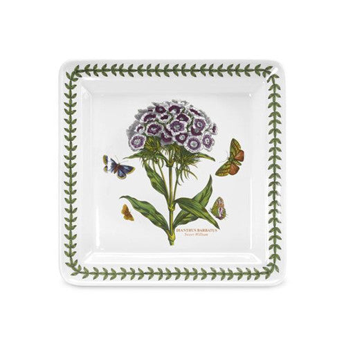 Portmeirion Botanic Garden Square Side Plates Sweet William