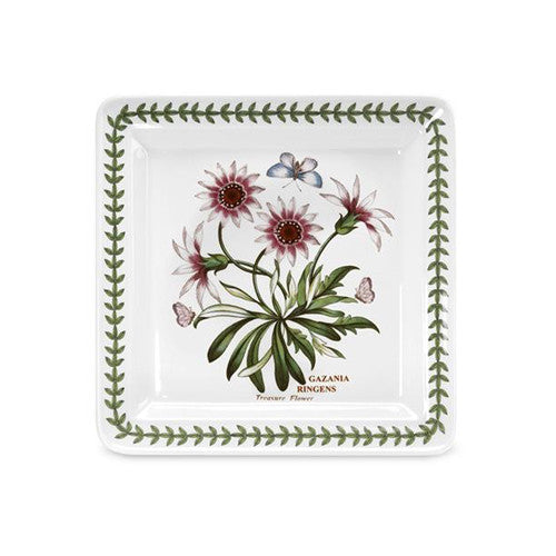 Portmeirion Botanic Garden Square Side Plates Treasure Flower