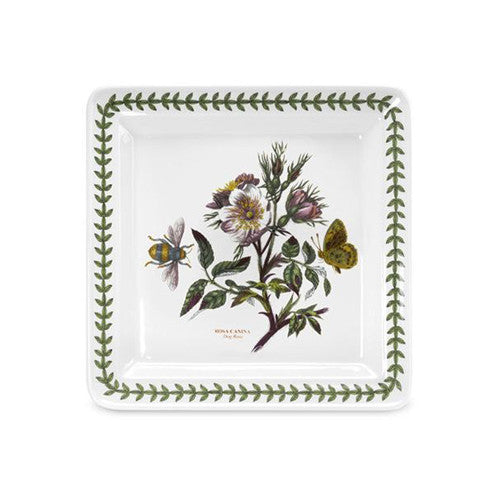 Portmeirion Botanic Garden Square Side Plate Dog Rose