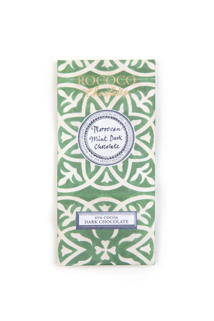 Moroccan Mint Dark Chocolate Artisan Bar