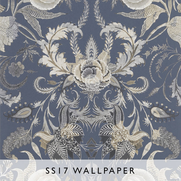 Wallpaper Noailles Graphite | Christian Lacroix