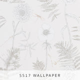 Wallpaper Acanthus Ivory
