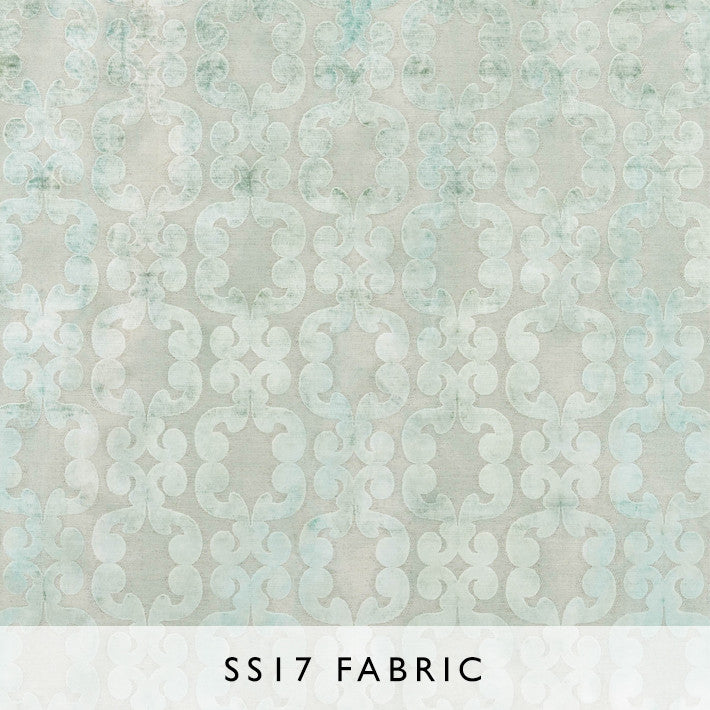 Fabric Iridato Pale Aqua