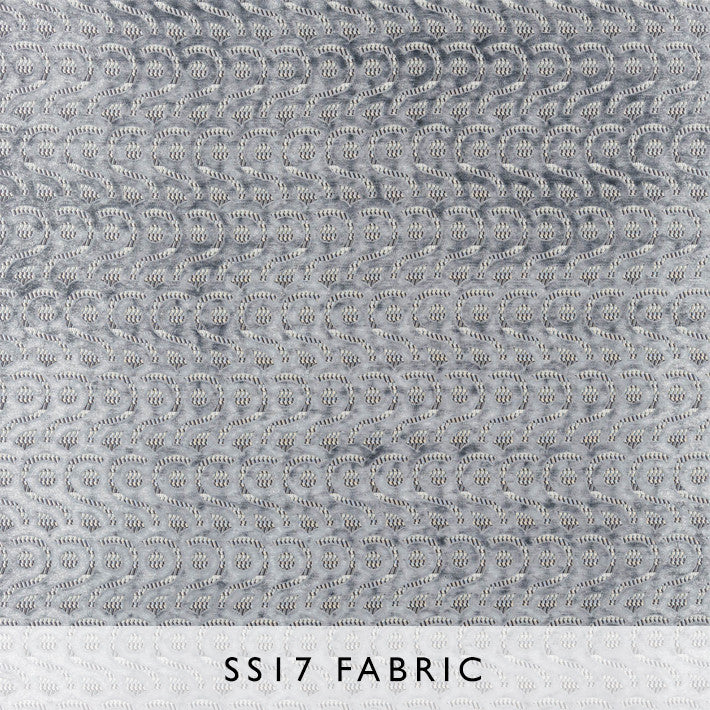 Fabric Latticino Graphite