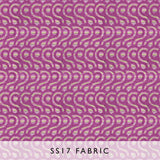 Fabric Latticino Violet