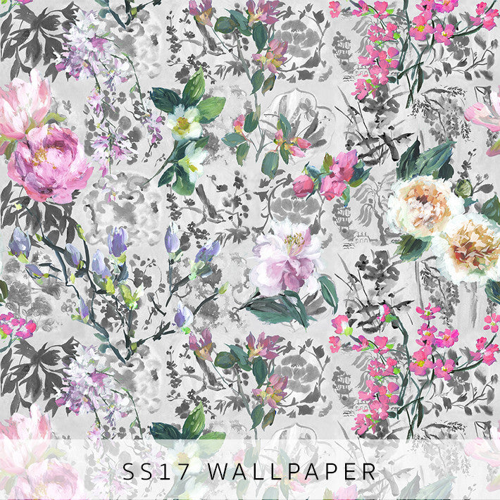 Wallpaper Majolica Slate