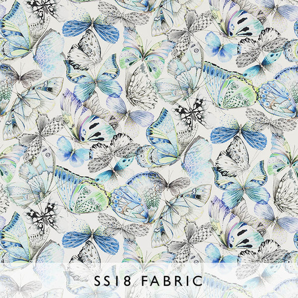 Fabric Papillons in Cobalt | Designers Guild SS18 | Janine Kuala Lumpur