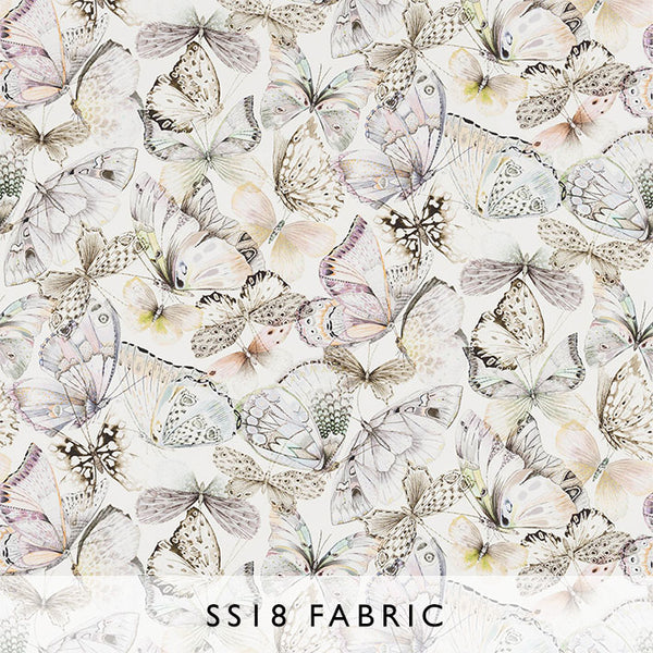 Fabric Papillons in Shell | Designers Guild SS18 | Janine Kuala Lumpur