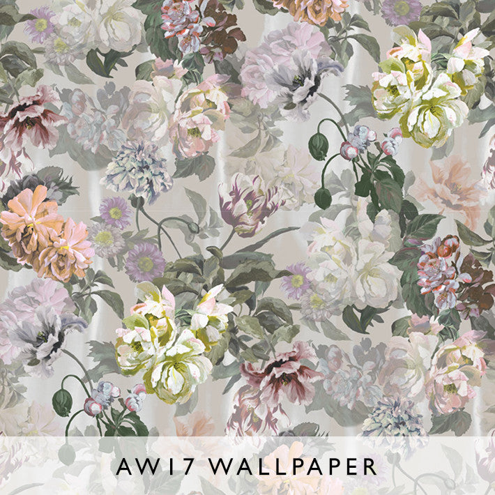 Wallpaper Delft Flower Grande Tuberose