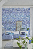 Fabric Reticello Cobalt