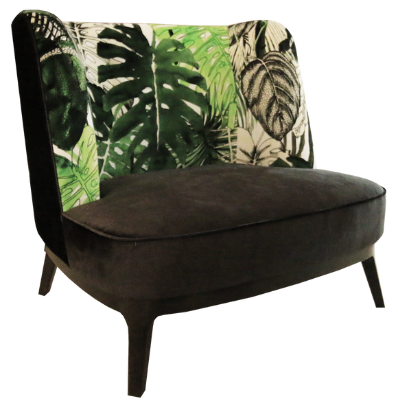 Dragonfly Armchair in Christian Larcroix Fabric