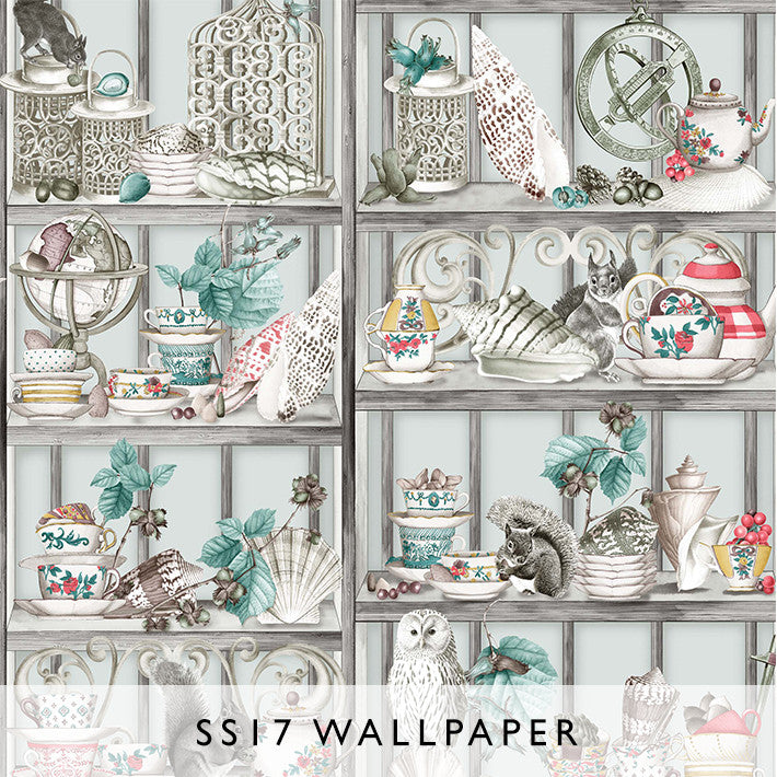 Wallpaper Enchanted Gardens Curio