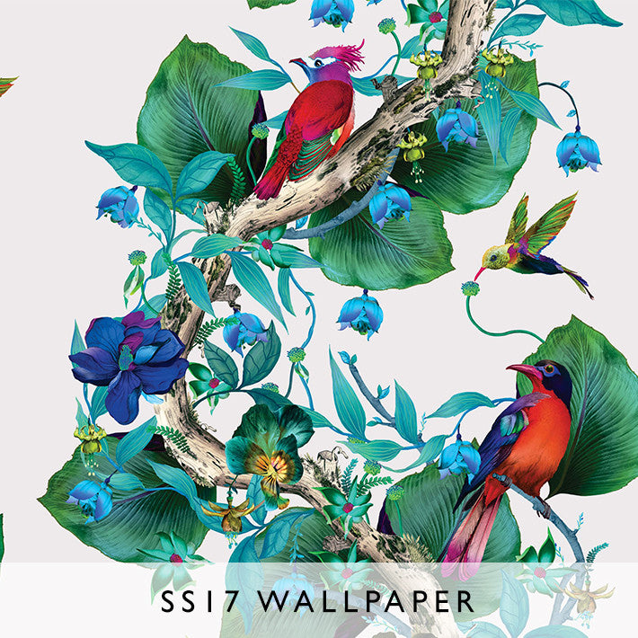 Wallpaper Enchanted Gardens Rain Forest 01