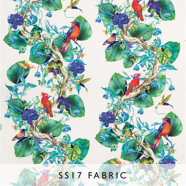 Fabric Enchanted Gardens Rain Forest 01