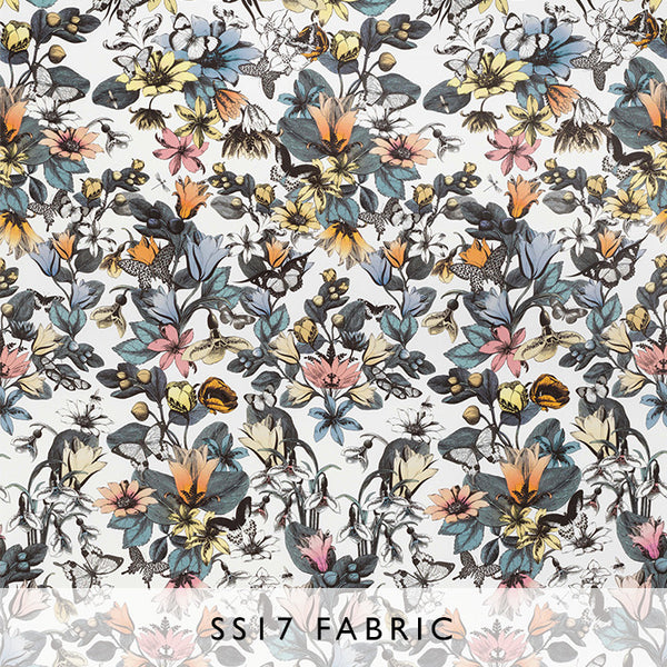 Fabric Enchanted Gardens Tulipan