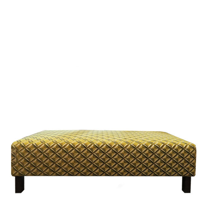 Esperanza Footstool in Osborne & Little Gloriana Amelia Lime Fabric