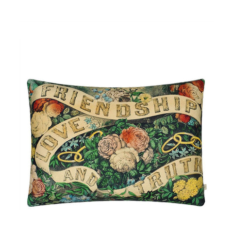 John Derian Friendship Forest Cushion 60 x 45cm
