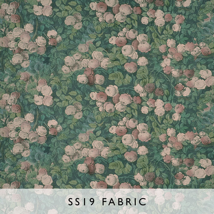 Fabric Rose Mosaic Forest