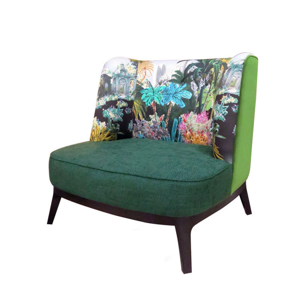 Dragonfly Chair in Christian Lacroix Bagatelle Reglisse Fabric | Janine Home | Janine Kuala Lumpur