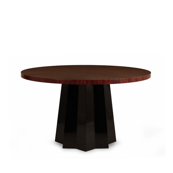 Dining Table Umbria in black lacquer | Janine Home | Janine Kuala Lumpur