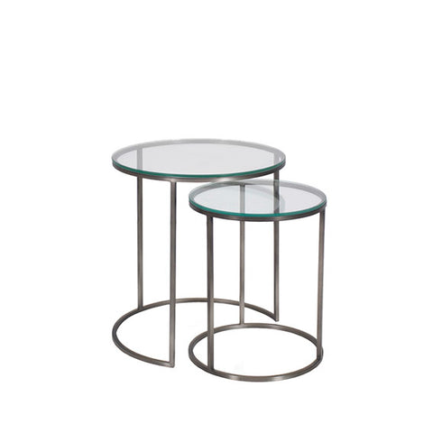 Kanta Nesting Table Pewter