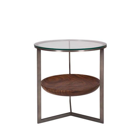 Levi Round End Table