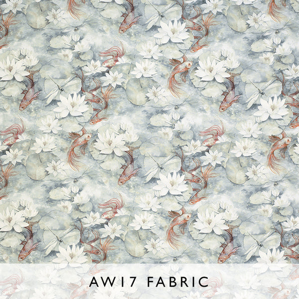 Fabric Water Lily 03 by Matthew Williamson Belvoir Autumn Winter 2017 at Janine Kuala Lumpur