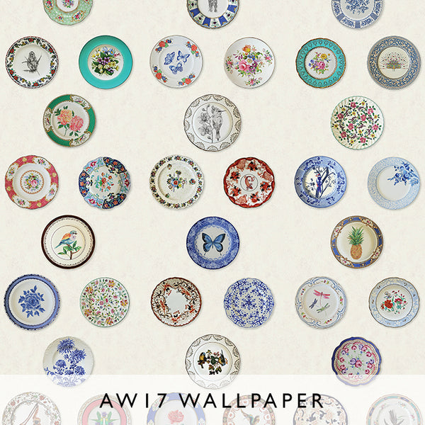 Wallpaper Ceramica cream Matthew Williamson