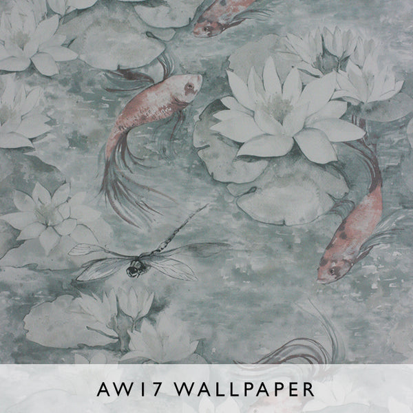 Wallpaper Water Lily Matthew Williamson Belvoir 2017 Janine Malaysia