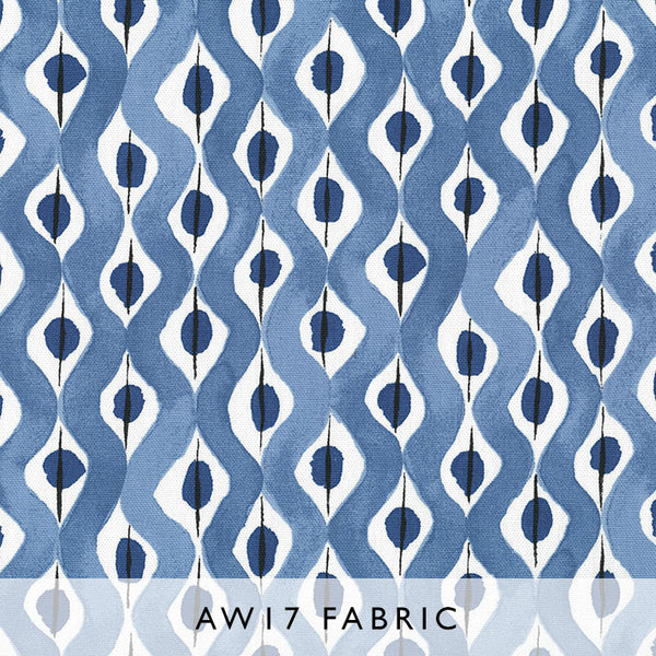 Nina Campbell Fabric Beau Rivage in Indigo from Les Reves Collection Janine Kuala Lumpur Malaysia