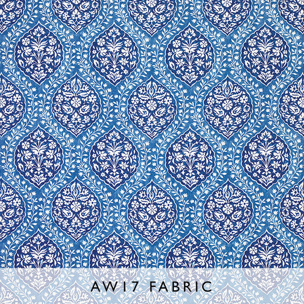 Nina Campbell Fabric Marguerite in Cobalt Les Reves Collection Janine Kuala Lumpur Malaysia