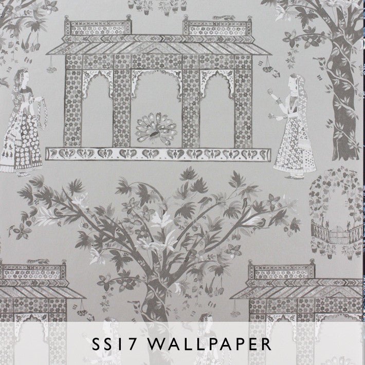 Wallpaper Pavilion Garden 02