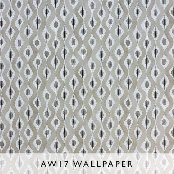 Nina Campbell Wallpaper Beau Rivage in Grey Les Reves collection Janine Kuala Lumpur Malaysia