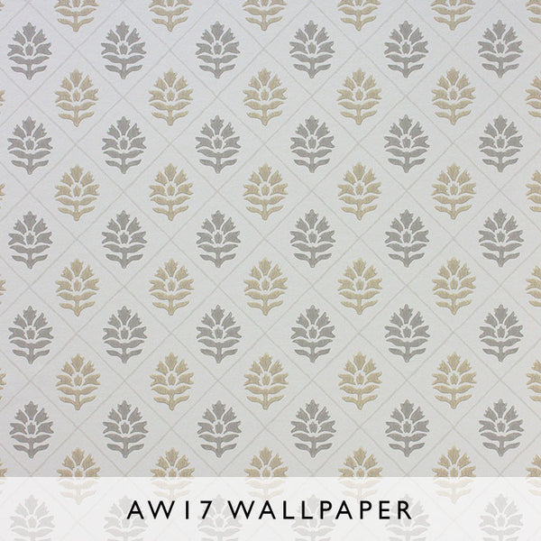 Nina Campbell Wallpaper Camille in Sand from Les Reves Collection Janine Kuala Lumpur Malaysia