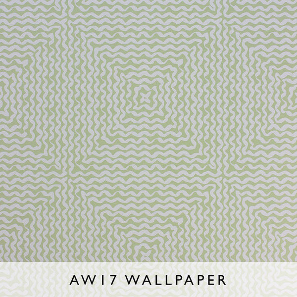 Nina Campbell Wallpaper Mourlot in Green Les Reves Collection Janine Kuala Lumpur Malaysia