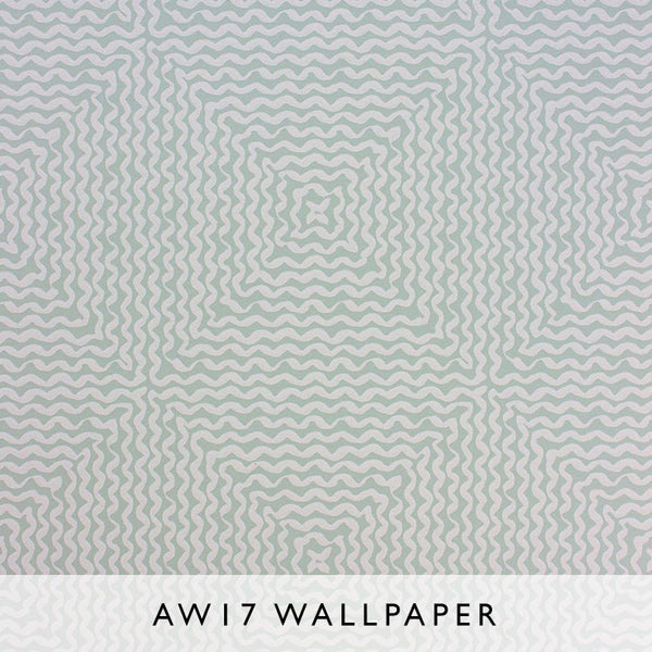 Nina Campbell Wallpaper Mourlot in Seafoam Les Reves Collection Janine Kuala Lumpur Malaysia