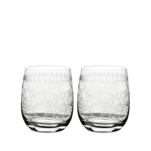 Botanic Garden Crystal Tumbler (Set of 4) | Portmeirion