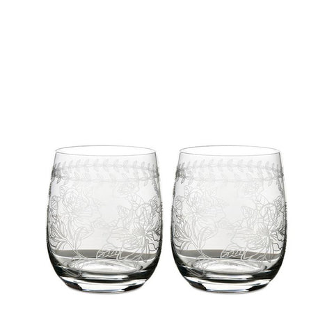 Botanic Garden Crystal Tumbler (Set of 4)