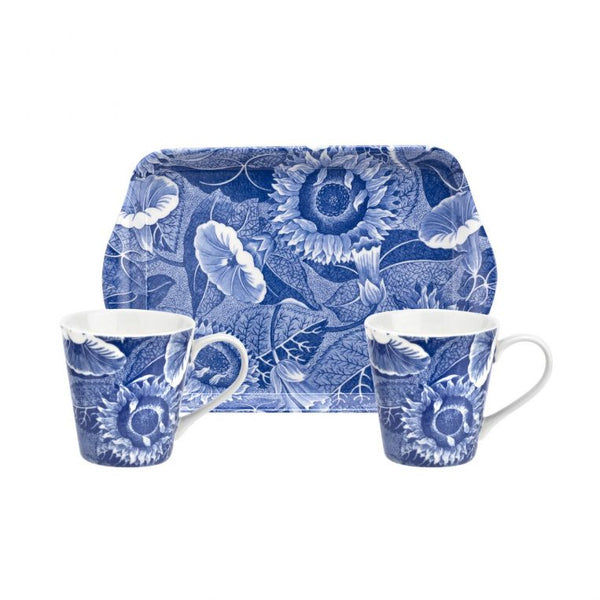 Pimpernel Blue Room Sunflower Mug & Tray Set