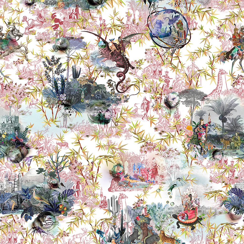 Reveries Tomette Fabric