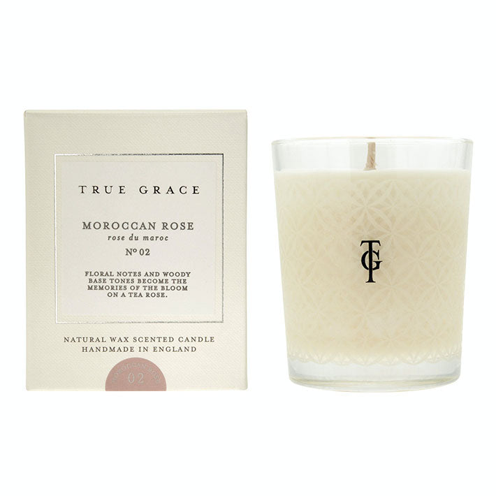 Village Classic Candle Morrocan Rose