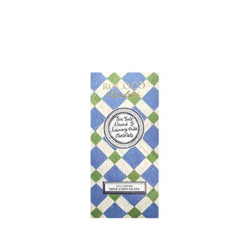 Sea Salt, Almond & Rosemary Milk Chocolate Artisan Bar