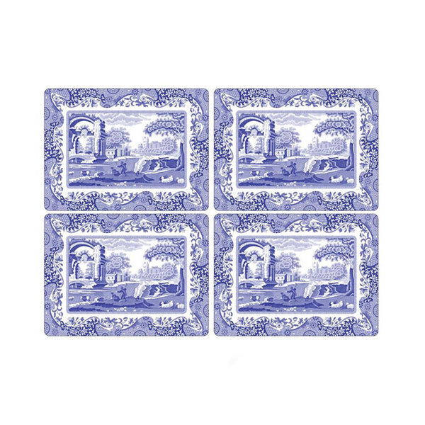 Pimpernel Blue Italian Placemats Set of 4