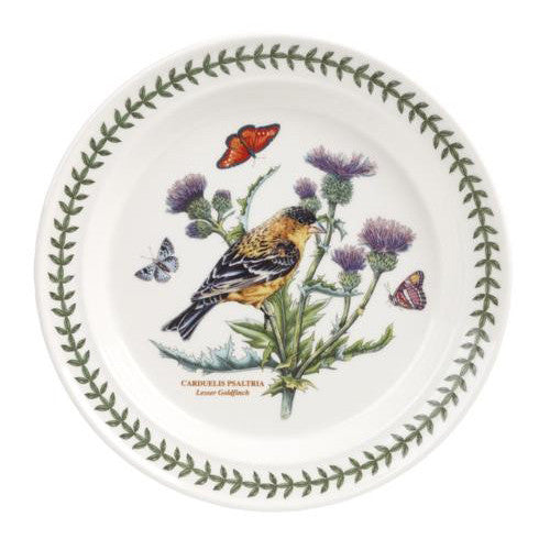 "Portmeirion Garden Birds Plate 8"" Lesser Goldfinch"