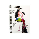Christian Lacroix Papier Fashion Sketch Croquis Notebook A6