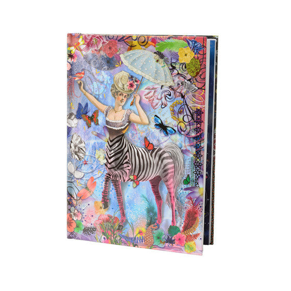 B5 Zebra Girl Journal