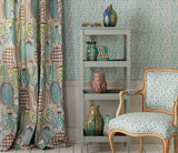 Nina Campbell Fabric Collioure curtain from Les Reves collection Janine Kuala Lumpur Malaysia
